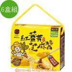 【豐滿生技】紅薑黃芝麻醬( 35g**10包/盒)6盒組