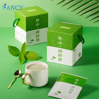 【菲奶茶】卦山綠奶茶 (100%紐西蘭進口奶粉) 一盒/10包
