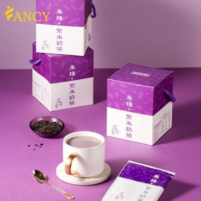 【菲奶茶】米棧紫米奶茶 (100%紐西蘭進口奶粉) 一盒/10包
