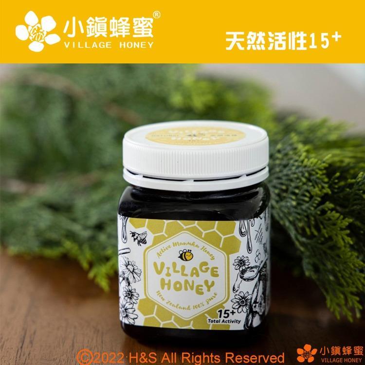 【小鎮蜂蜜】天然活性麥蘆卡蜂蜜15+(250克)