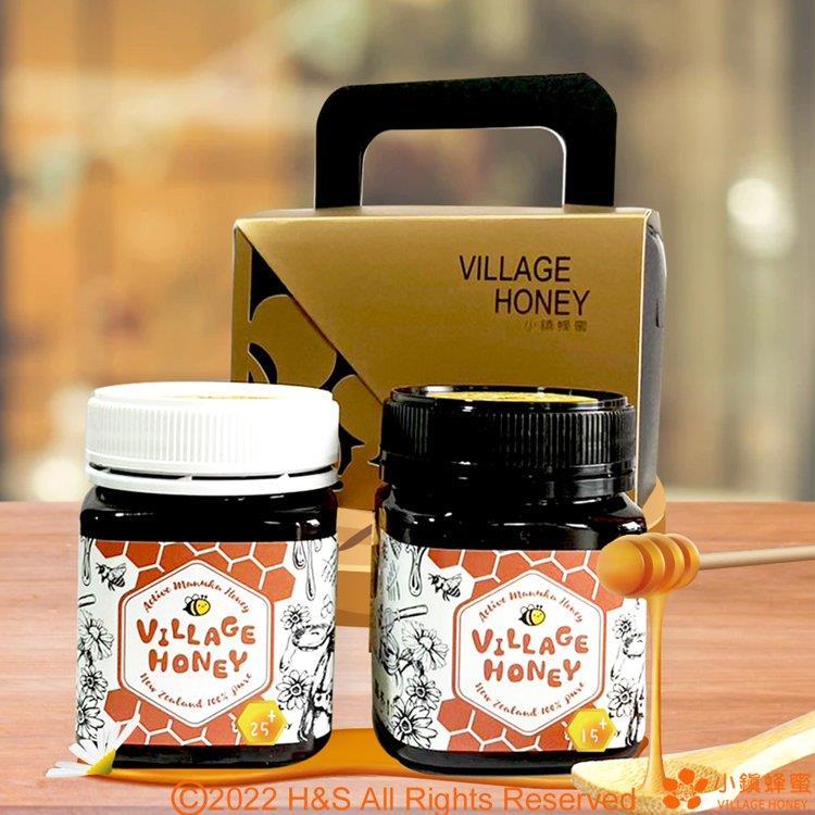 【小鎮蜂蜜】天然活性麥蘆卡蜂蜜25+(250克)+乳化活性麥蘆卡15+(250克)