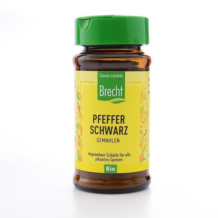 【布萊德】有機黑胡椒粉 (40g 瓶)) 有效期限2021.03.31