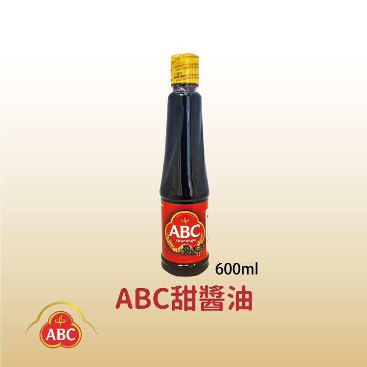 【印尼】ABC KECAP MANIS 甜醬油600mlX2罐