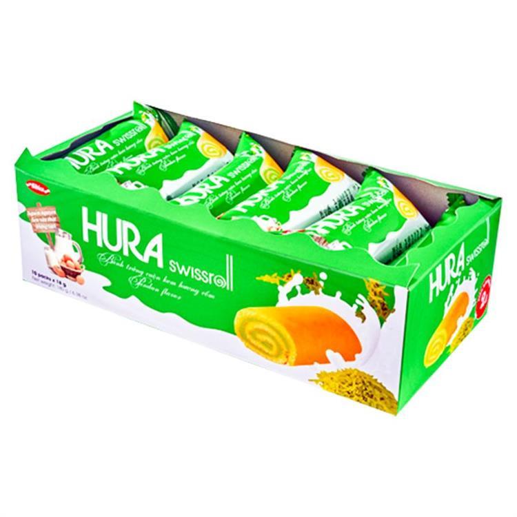 【越南】HURA風味糕餅(香蘭葉/草莓)X4入