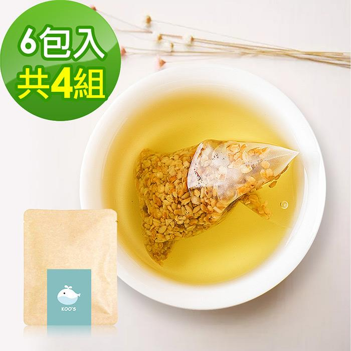 KOOS-韃靼黃金蕎麥茶-隨享包4組(6包入)