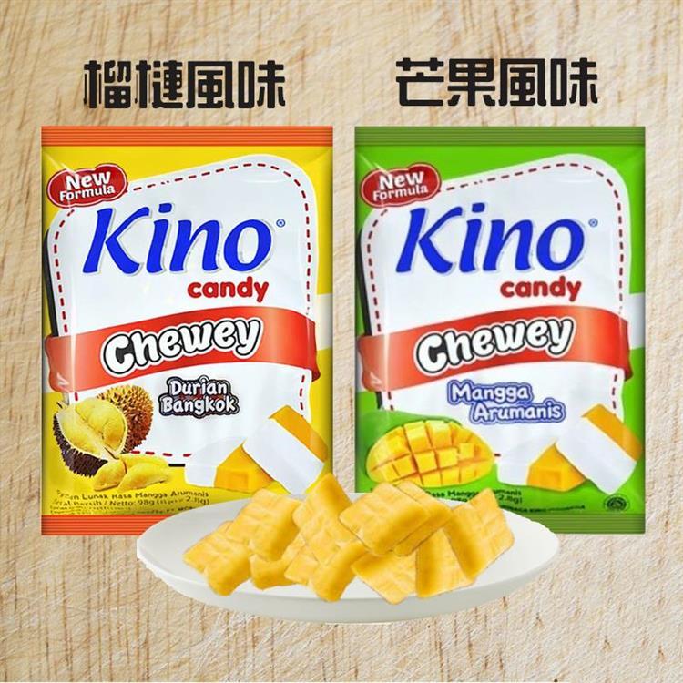 【印尼】Kino 水果軟糖果 (榴槤/芒果)X6