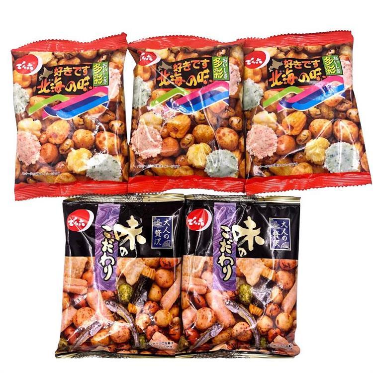 傳六什錦豆(5入)口味隨機--有效期限2020.4.26