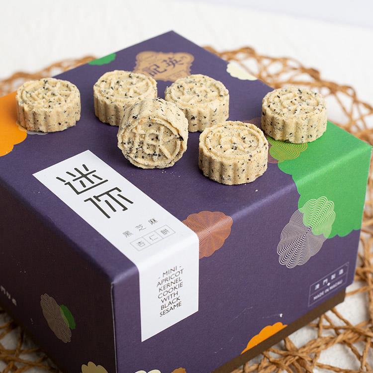 【英記餅家】迷你黑芝麻杏仁餅36入 2盒組