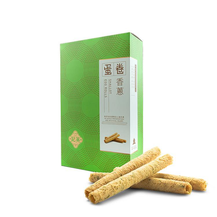 【英記餅家】香蔥蛋卷165g/盒(2盒組)