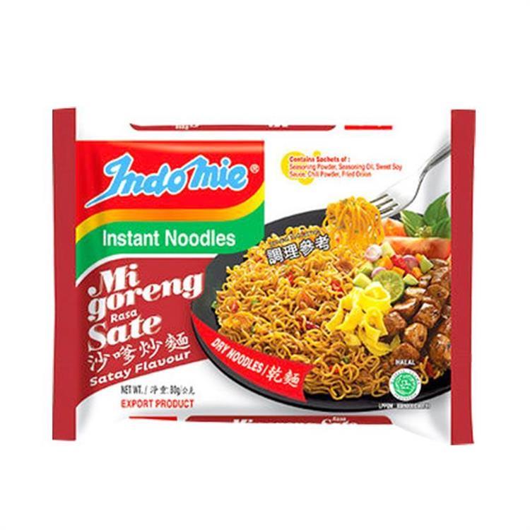 【印尼】Indomie營多泡麵-沙嗲(40包入/箱)