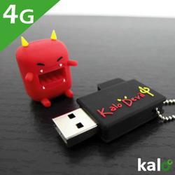 Kalo卡樂創意 Flash Drive-4G(紅辣椒魔鬼)