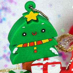Kalo卡樂創意 北歐聖誕系列Flash Drive-4G(聖誕樹)