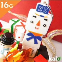 Kalo卡樂創意 北歐聖誕系列Flash Drive-16G(雪人)
