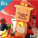 Kalo卡樂創意 北歐聖誕系列Flash Drive-8G(麋鹿)