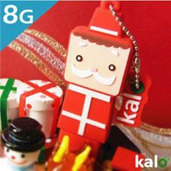 Kalo卡樂創意 北歐聖誕系列Flash Drive-8G(聖誕老人)