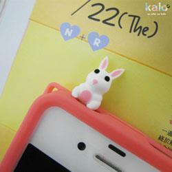 Kalo 卡樂創意 耗呆系列耳機孔塞(兔子)