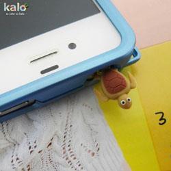 Kalo 卡樂創意 耗呆系列耳機孔塞(海龜)