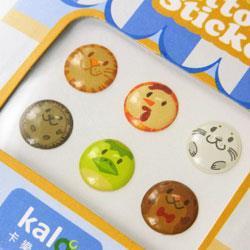 Kalo卡樂創意 Home鍵按鈕貼紙(動物系列)