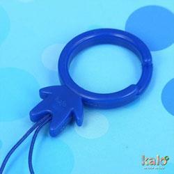 Kalo 卡樂創意 KaloMan指環扣(藍)