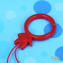 Kalo 卡樂創意 KaloMan指環扣(紅)
