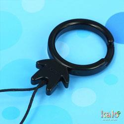 Kalo 卡樂創意 KaloMan指環扣(黑)