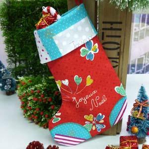 【臺灣喜佳】聖誕禮物襪材料包