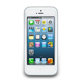 【Navjack】iPhone 5邊框保護套-珍珠白