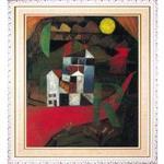 克利Klee「R別墅」白框加大W0326