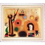 米羅Miro「紅翼蜻蜓」白框加大W0323