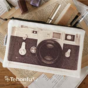 【手本風】相機袋-BROWN