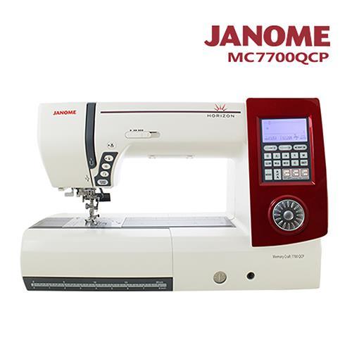 日本車樂美JANOME 電腦型全迴轉縫紉機MC7700QCP