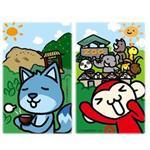 【輔大猴】悠遊卡卡貼_動物園(2入)
