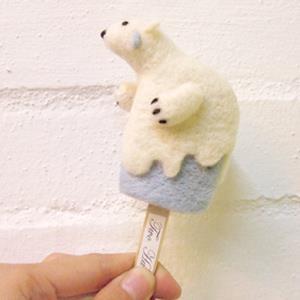 雙手牌 方塊書-北極熊雪糕