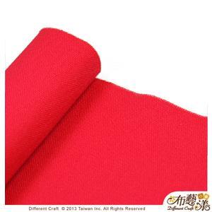【布藝漾小舖】帆布- 14oz 100%純棉防潑水帆布/碼 寬幅 活力紅
