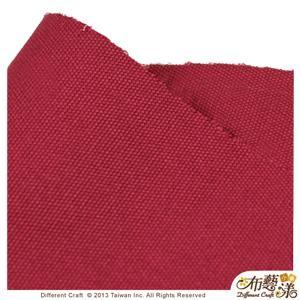 【布藝漾小舖】帆布- 14oz 100%純棉防潑水帆布/碼 寬幅 棗紅