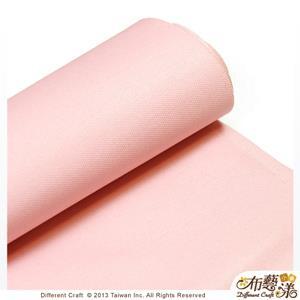 【布藝漾小舖】帆布- 14oz 100%純棉蠟感帆布/碼 寬幅 共13色 淡粉