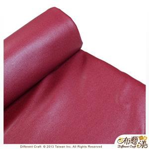 【布藝漾小舖】帆布- 14oz 100%純棉蠟感帆布/碼 寬幅 共13色 棗紅