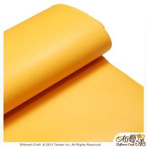 【布藝漾小舖】帆布- 14oz 100%純棉蠟感帆布/碼 寬幅 共13色 鵝黃