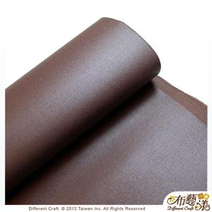 【布藝漾小舖】帆布- 14oz 100%純棉蠟感帆布/碼 寬幅 共13色 摩卡咖