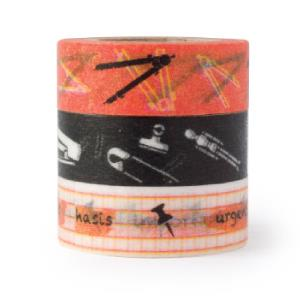 【i-tape】MIT和紙膠帶.寫實文具系列 I