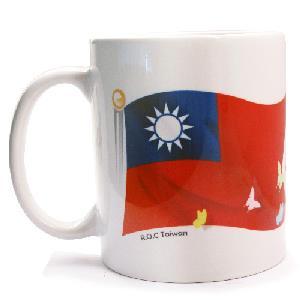 《TaiFun台瘋創意》馬克杯-國旗台灣