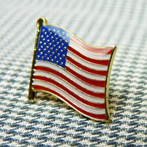 【國旗商品創意館】美國USA徽章4入組/胸章/別針