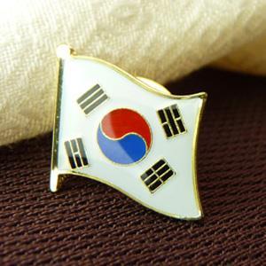 【國旗商品創意館】南韓國Korea徽章4入組/胸章/別針