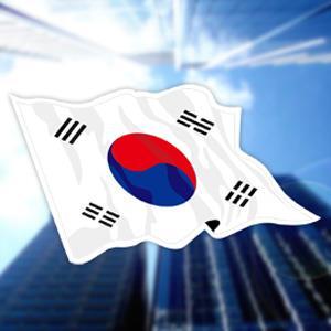 【國旗商品創意館】南韓國旗飄揚抗UV、防水貼紙2入/S. Korea/尚有多國款