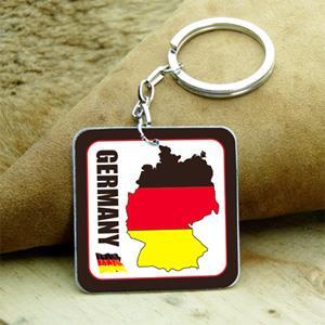 【國旗商品創意館】德國造型鑰匙圈/Germany/多國款式可選購