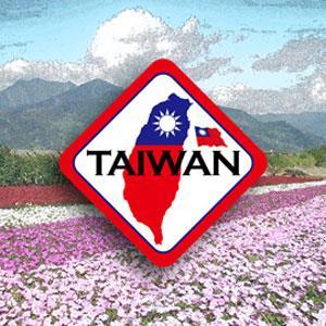 【國旗商品創意館】台灣(K-002)領土抗UV、防水貼紙/Taiwan/中華民國