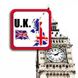 【國旗商品創意館】英國旗領土抗UV、防水貼紙/UK/多國款式可選購