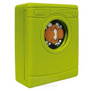 【髒小人洗刷刷】洗衣機-綠