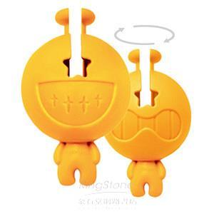 【大頭症小人】集線器-橘