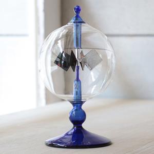 賽先生科學工廠-光能輻射計/太陽風車-藍色(小)